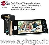 Funk- Video Türsprechanlage ALP-403 - verstellbare...